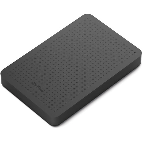 Buffalo MiniStation Plus 1TB Portable USB 3.0 Hard Drive (Black)