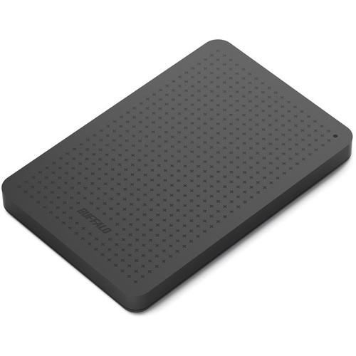 Buffalo MiniStation Plus 500GB Portable USB 3.0 Hard Drive (Black)
