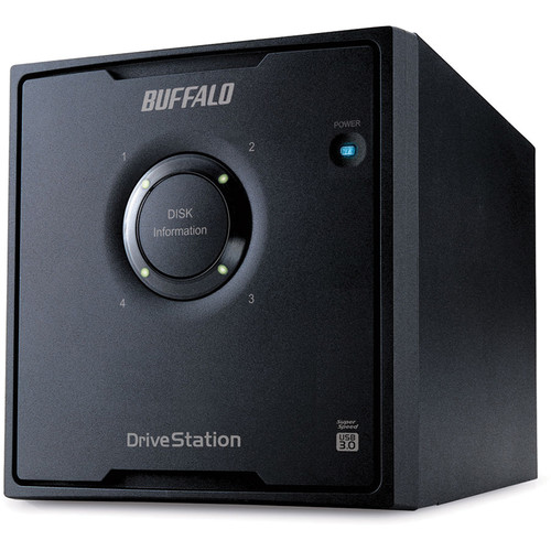 Buffalo DriveStation Quad 16TB 4-Bay USB 3.1 Gen 1 RAID Array (4 x 4TB)