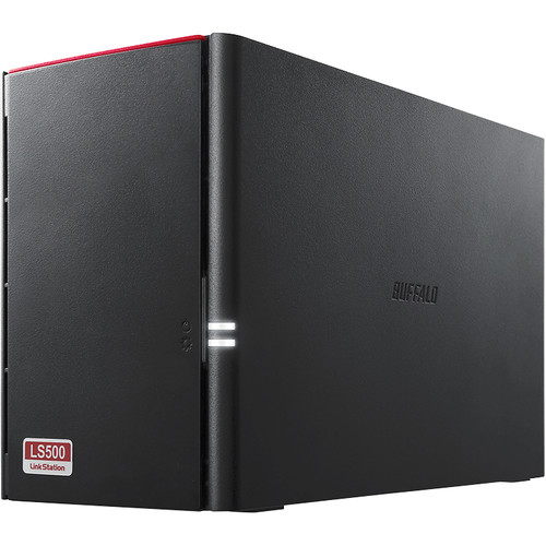 Buffalo LinkStation 2TB 520DN 2-Bay NAS Server (2 x 1TB)
