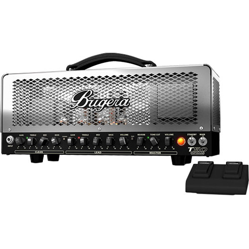 Bugera T50 INFINIUM 50W 2-Channel Tube Guitar Amplifier Head