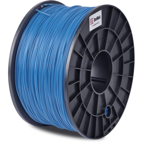 BuMat 1.75mm ABS Filament (1kg, Blue)