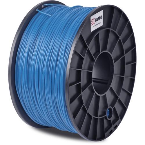 BuMat 1.75mm ABS Filament (1kg, Blue)