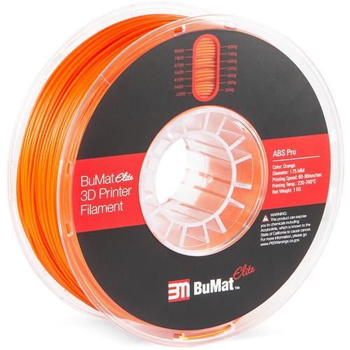BuMat Elite Professional 1.75mm ABS Filament (Orange)