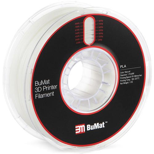 BuMat 1.75mm PLA Filament (1kg, Natural)