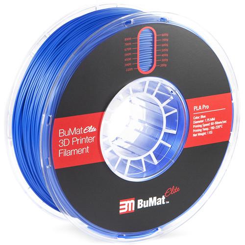 BuMat Elite Professional 1.75mm PLA Filament (1kg, Blue)
