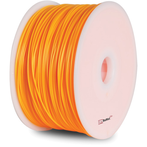 BuMat Elite 1.75mm ABS Filament (2.2 lb, Fluorescent Orange)