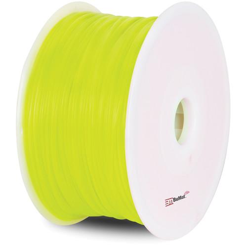 BuMat Elite 1.75mm ABS Filament (2.2 lb, Fluorescent Yellow)