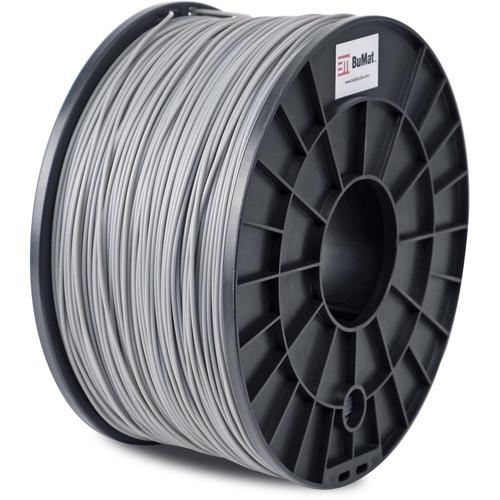 BuMat 1.75mm ABS Filament (1kg, Gray)