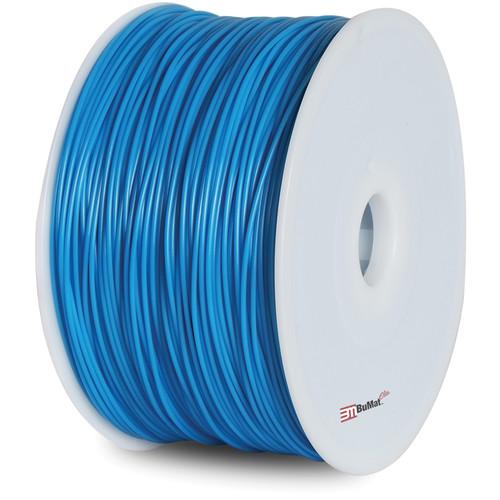 BuMat Elite 1.75mm ABS Filament (2.2 lb, Luminous Blue)