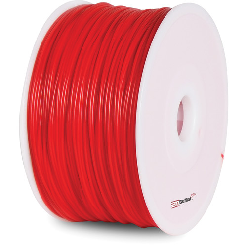 BuMat Elite 1.75mm ABS Filament (2.2 lb, Luminous Red)