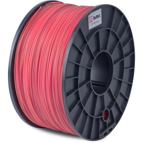 BuMat 1.75mm ABS Filament (1kg, Red)