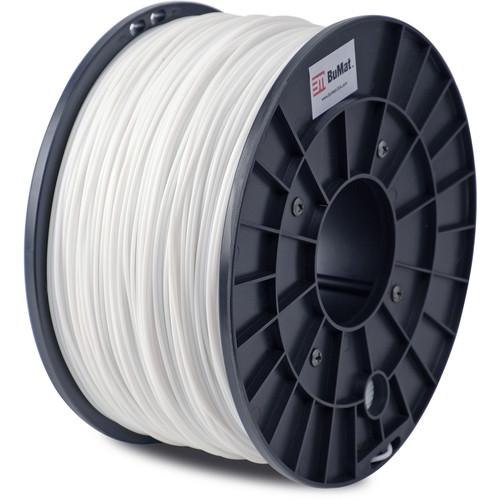 BuMat 1.75mm ABS Filament (1kg, White)