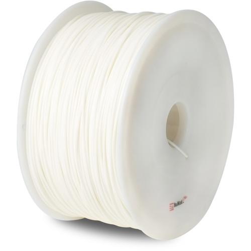 BuMat 1.75mm Elite ABS 3D Printer Filament (1kg, White)