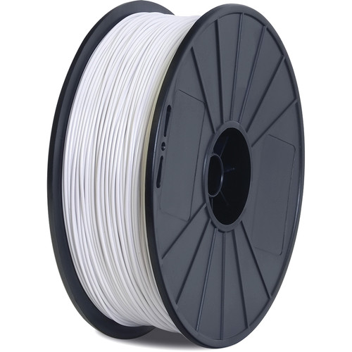 BuMat Elite Dreamer 1.75mm PLA Filament (1.5 lb, White)