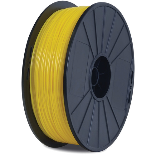 BuMat Elite Dreamer 1.75mm PLA Filament (1.5 lb, Yellow)