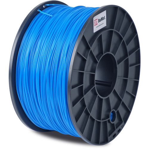 BuMat 1.75mm PLA Filament (1kg, Blue)
