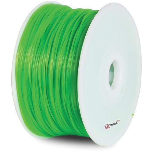 BuMat Elite 1.75mm PLA Filament (2.2 lb, Fluorescent Green)