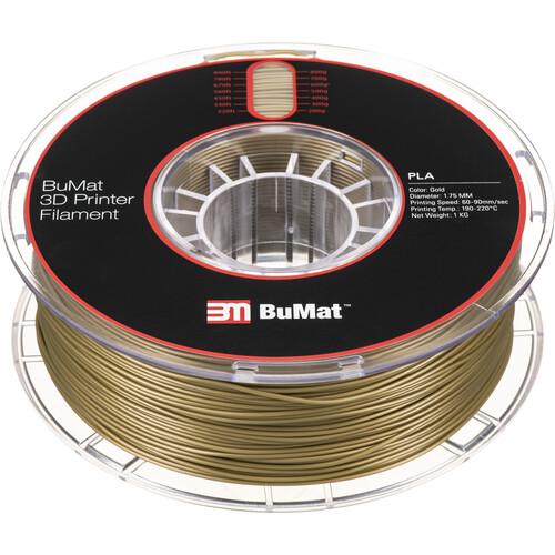 BuMat 1.75mm PLA Filament (1kg, Gold)