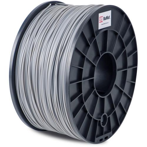 BuMat 1.75mm PLA Filament (1kg, Gray)