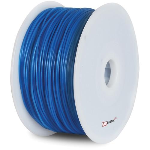 BuMat Elite 1.75mm PLA Filament (2.2 lb, Luminous Blue)