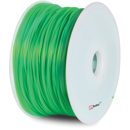 BuMat Elite 1.75mm PLA Filament (2.2 lb, Luminous Green)