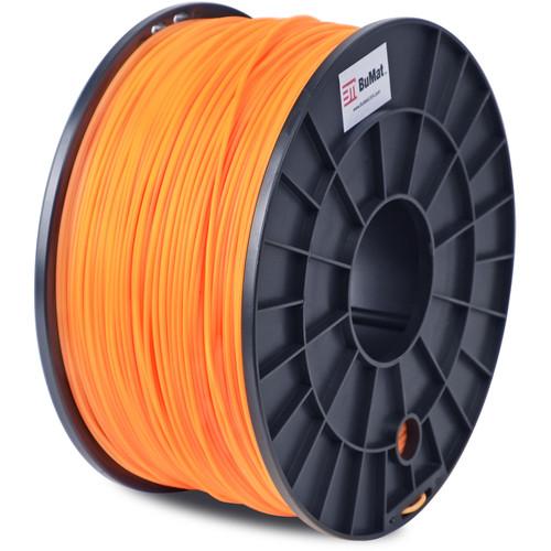 BuMat 1.75mm PLA Filament (1kg, Orange)