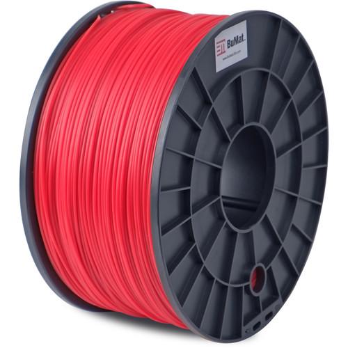 BuMat 1.75mm PLA Filament (1kg, Red)
