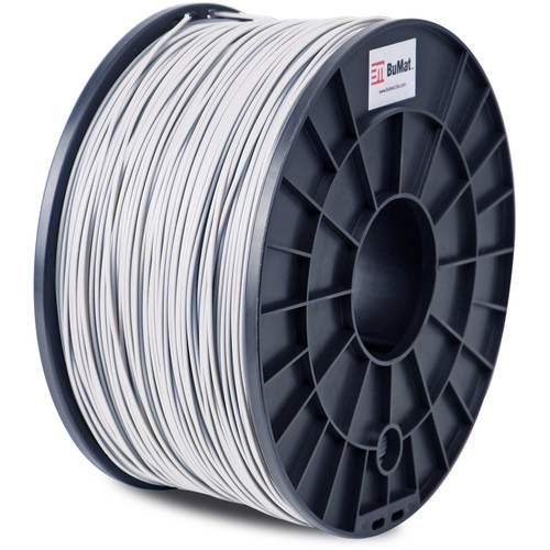 BuMat 1.75mm PLA Filament (1kg, Silver)