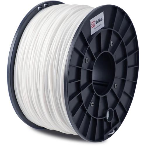 BuMat 1.75mm PLA Filament (1kg, White)