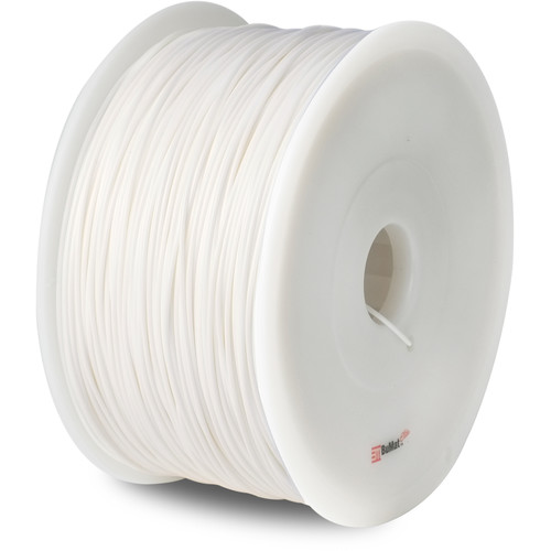 BuMat 1.75mm Elite PLA Filament (1kg, White)