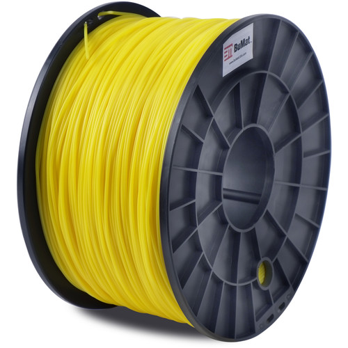 BuMat 1.75mm PLA Filament (1kg, Yellow)