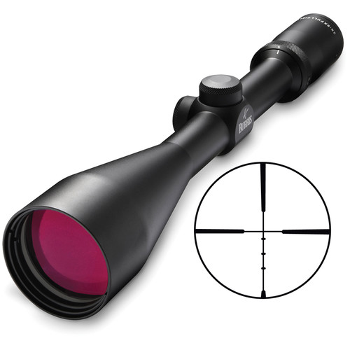 Burris Optics 3-9x50 Fullfield II Riflescope (Ballistic Plex Reticle, Matte Black)