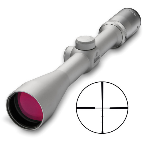 Burris Optics 3-9x40 Fullfield II Riflescope (Ballistic Plex Reticle, Nickel)