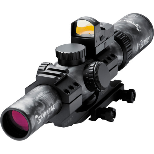 Burris Optics 1-4x24mm Skull-TAC Riflescope-FastFire III Sight and AR-P.E.P.R. Mount
