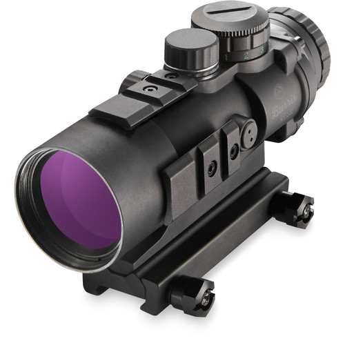 Burris Optics 5x36 AR-536 Rifle Sight (Red-Green Ballistic AR Reticle, Matte Black)