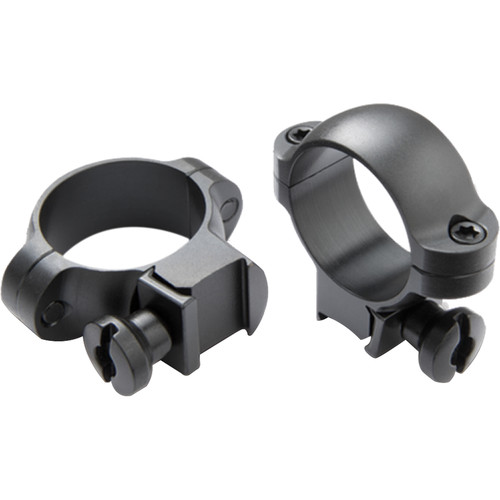 "Burris Optics Rimfire and Airgun Riflescope Rings (1"", Aluminum, Medium, Gloss Black)"