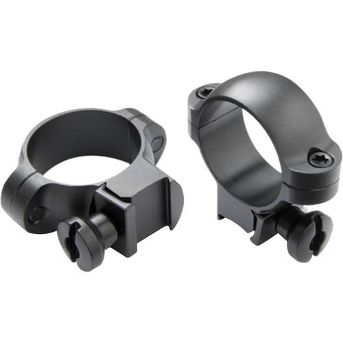 "Burris Optics Rimfire and Airgun Riflescope Rings (1"", Steel, High, Gloss Black)"