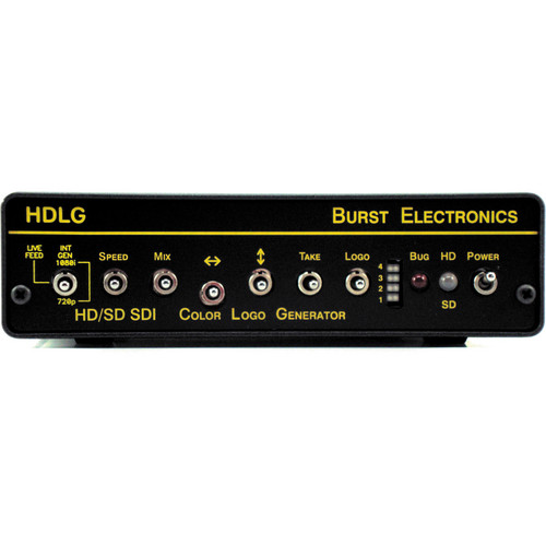 Burst Electronics HDLG HD/SD-SDI Color Logo Generator
