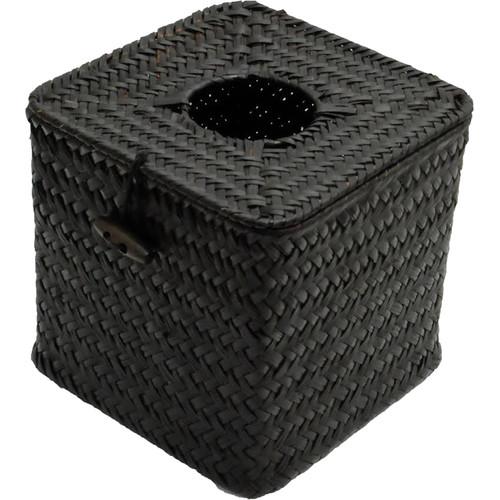 Bush Baby Wicker Tissue Box with 1080p Covert Camera