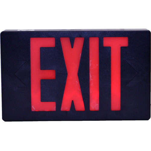 Bush Baby Hardwired Exit Sign with Covert 1080p Wi-Fi Camera