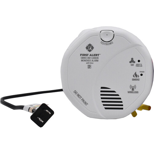 Bush Baby Non-Functional Smoke Detector with Dual Covert 1080p Wi-Fi Cameras