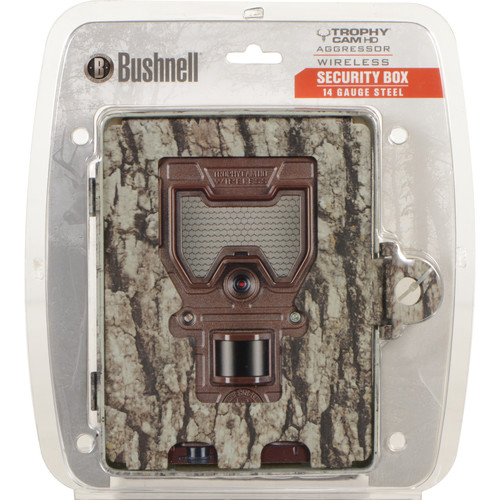 Bushnell Security Box for Aggressor Wireless Digital Trail Camera (Tree Bark)