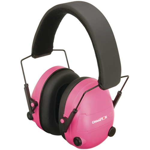 Bushnell Electronic Ear Muffs (Pink)