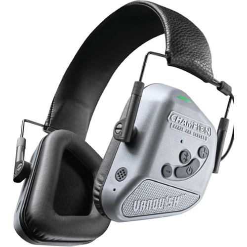 Bushnell Vanquish Pro Elite Electronic Hearing Protection Noise-Canceling Bluetooth Headphones (Gray)