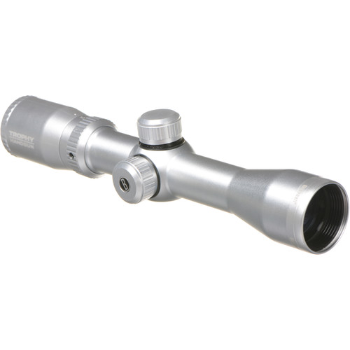 Bushnell 2-6x32 Trophy Riflescope for Handguns (Multi-X Reticle, Silver)