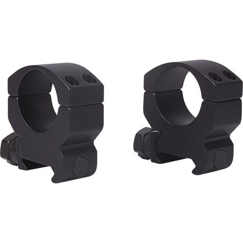 "Millett Millet Tactical Picatinny Scope Rings (1"", Aluminum, High, Matte Black)"