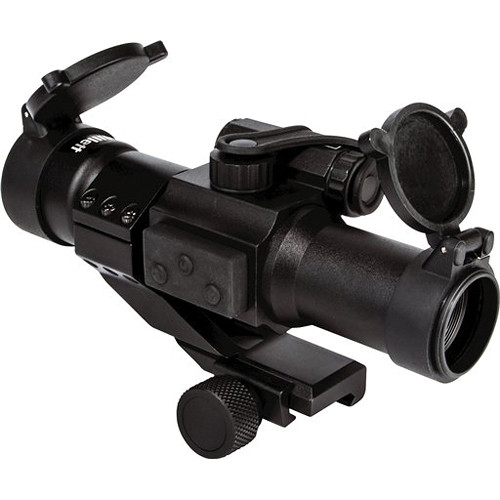 Millett M-Force 1x30 Red Dot Sight with 5 MOA Red Dot and Picatinny Riser (Box)