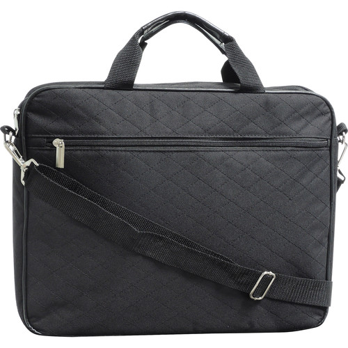 "Buxton Quilted Case for 17"" Laptop (Black)"