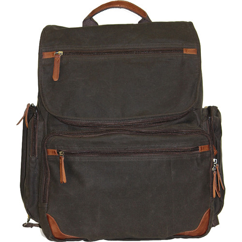 Buxton DOPP Gear Canvas Backpack (Olive)